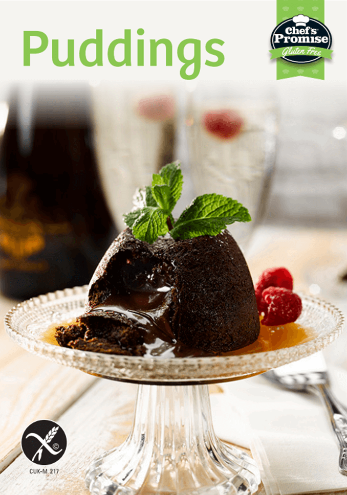 Chef's Promise Gluten Free Puddings